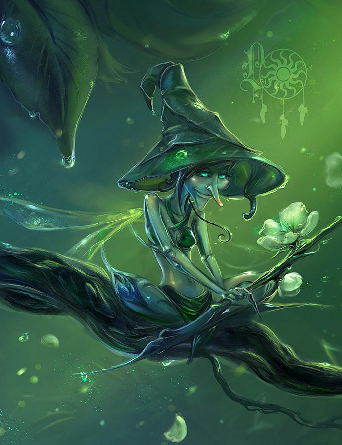 April Elf by LadyOwl
