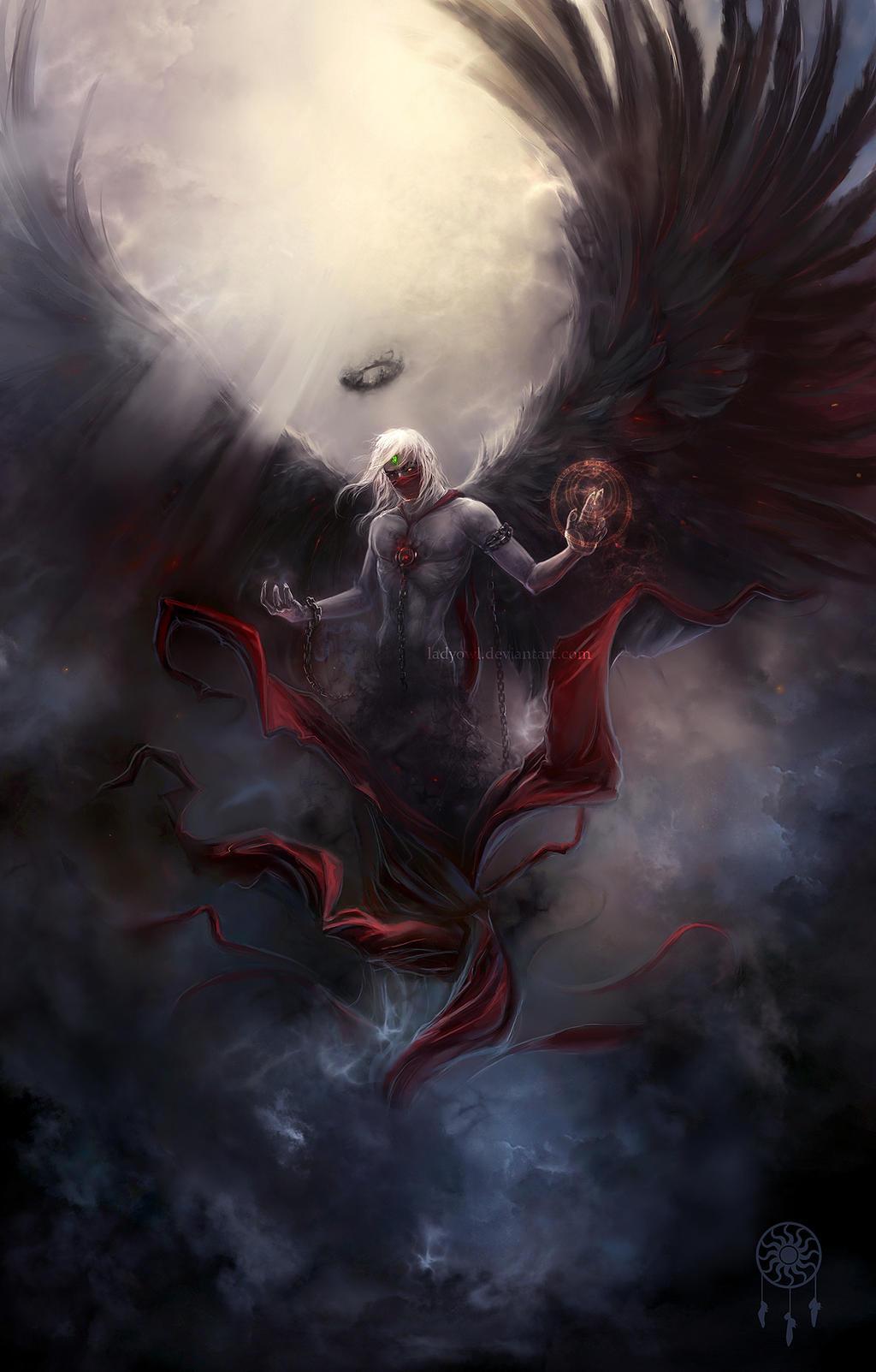 The Dark by LadyOwl