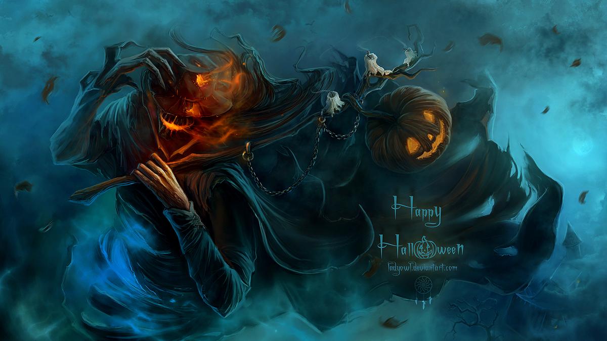 Halloween Scarecrow2 by BettyElgyn