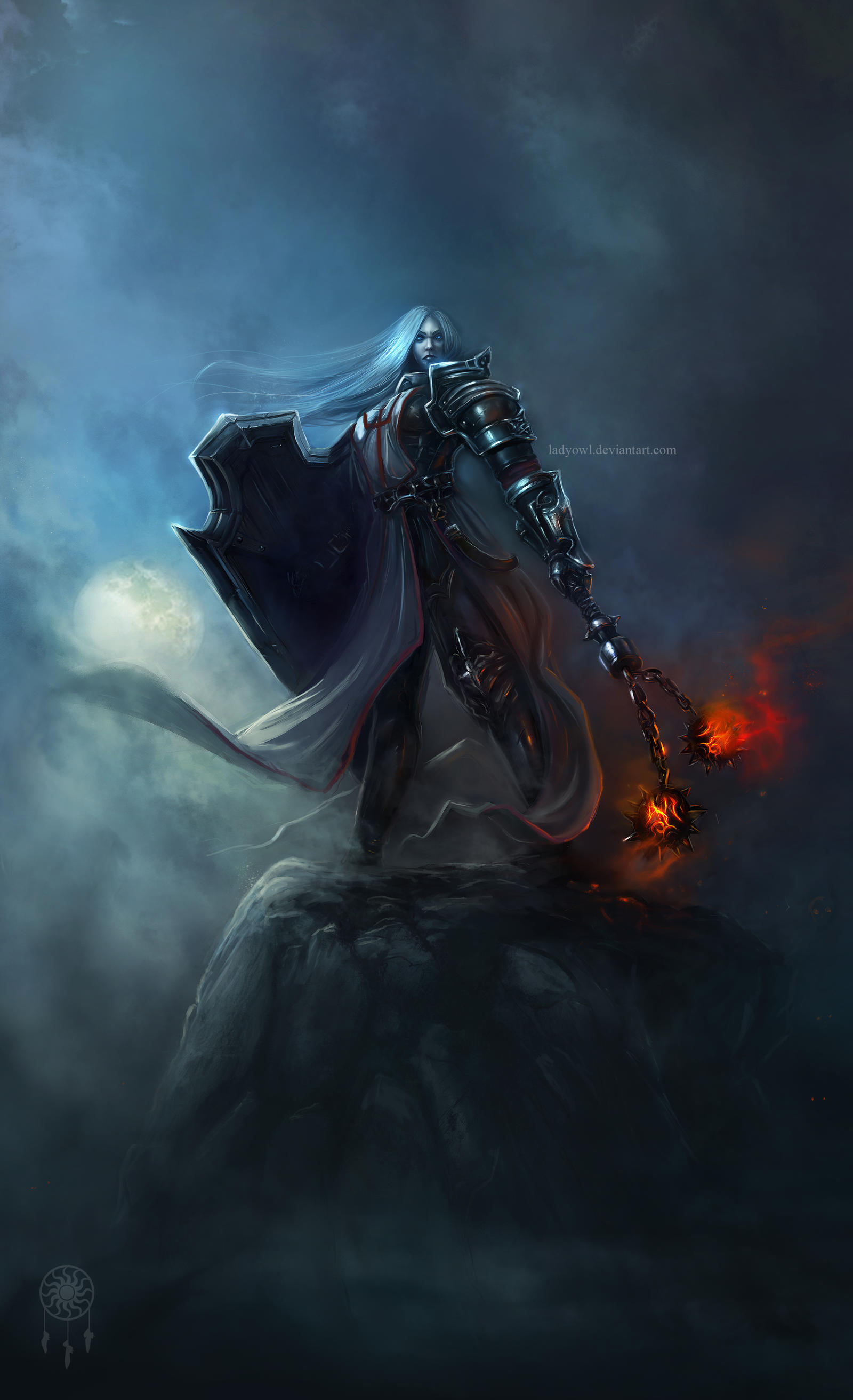 Diablo3-Woman-Crusader by LadyOwl