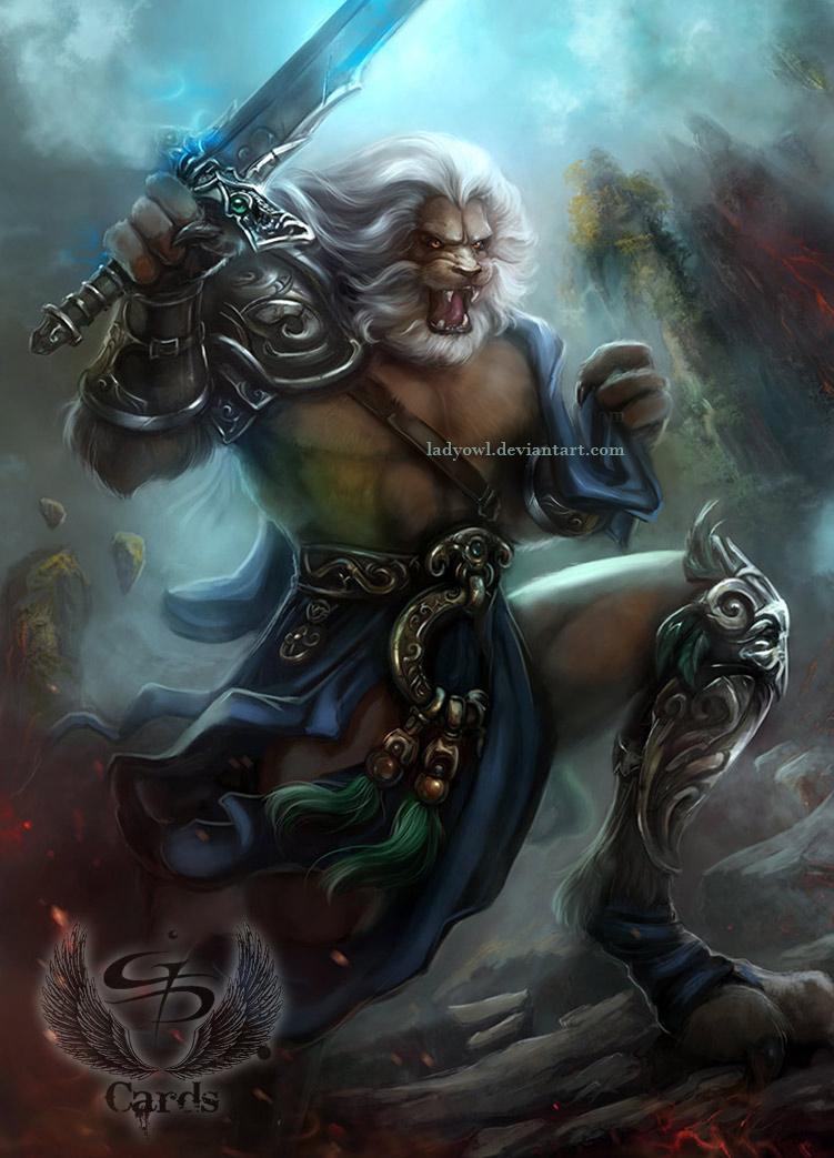 Lion Warrior By Bettyelgyn On Deviantart