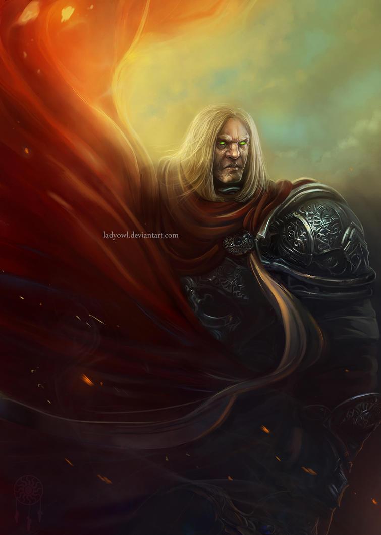 Warrior by LadyOwl