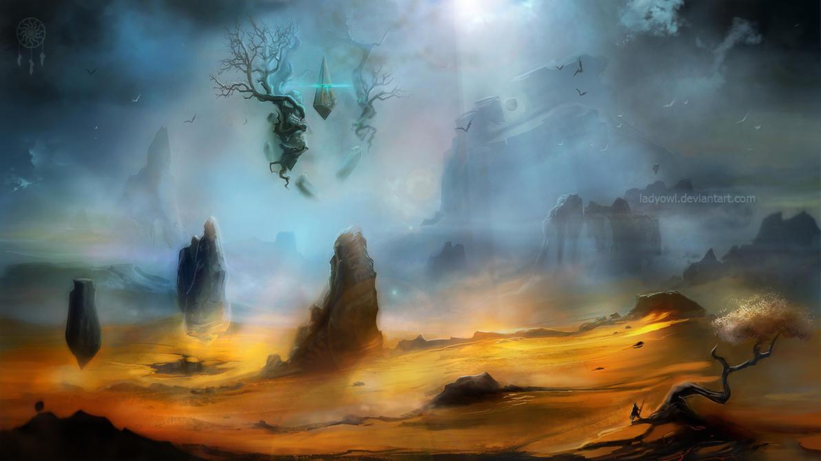 landscape by LadyOwl
