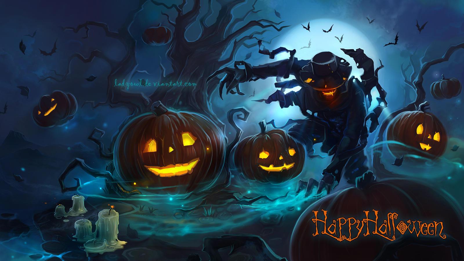 Halloween2015 by LadyOwl