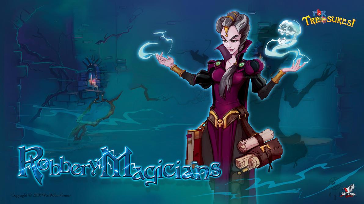 RobberyMagicians - Necromancer by BettyElgyn