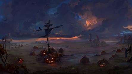 Halloween2019_Scarecrow-Watcher by BettyElgyn