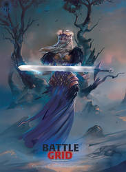 Lady with Sword by BettyElgyn