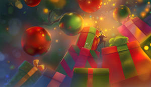 Under Cristmas Tree - bookcover