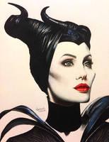 Disney Maleficent by paparwii