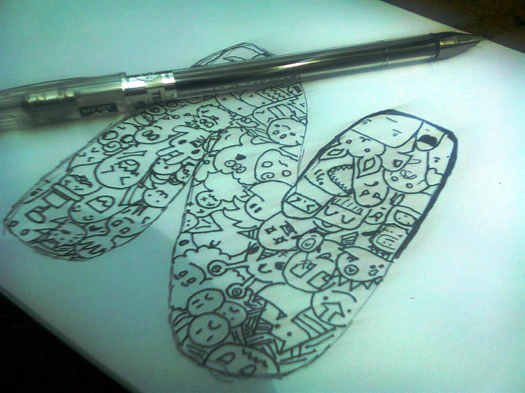 Doodle Arts Letter N By Nelnear23