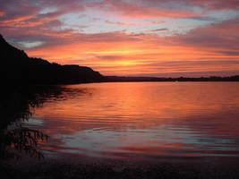 Mirrored  Sunset by MrE88k