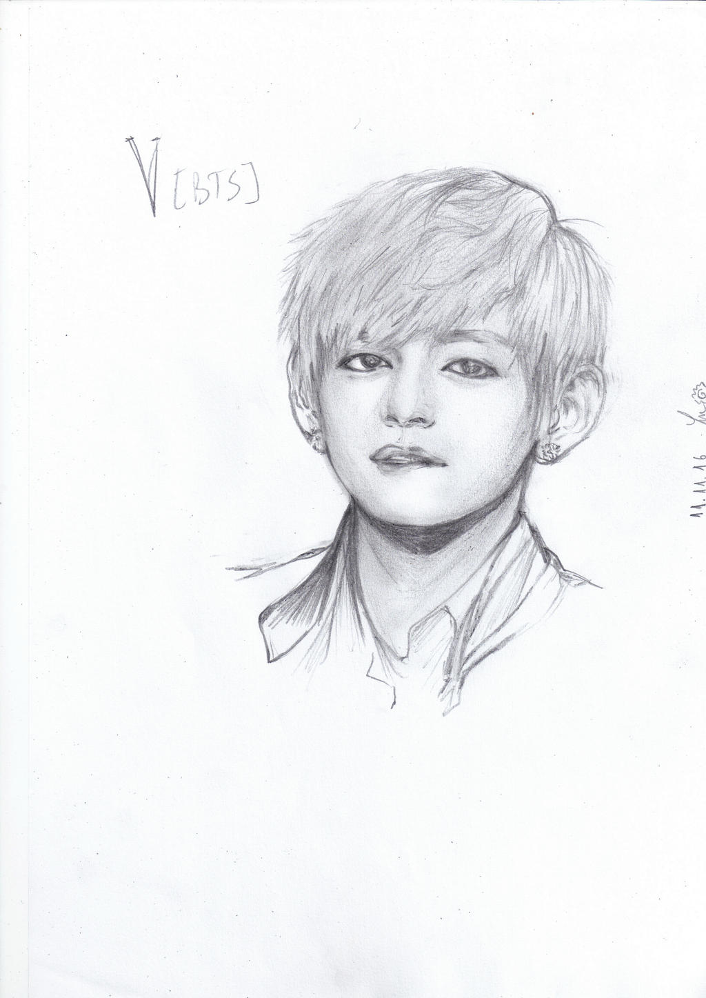 V Bts Drawing Bing Images Card From User