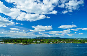 Clouds over the Oslo Fjord by Bull04
