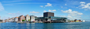 Panorama Port of Copenhagen