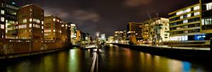 Panorama Port City Hamburg