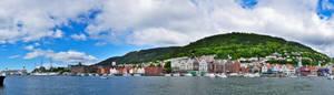 Big Panorama Port Bergen