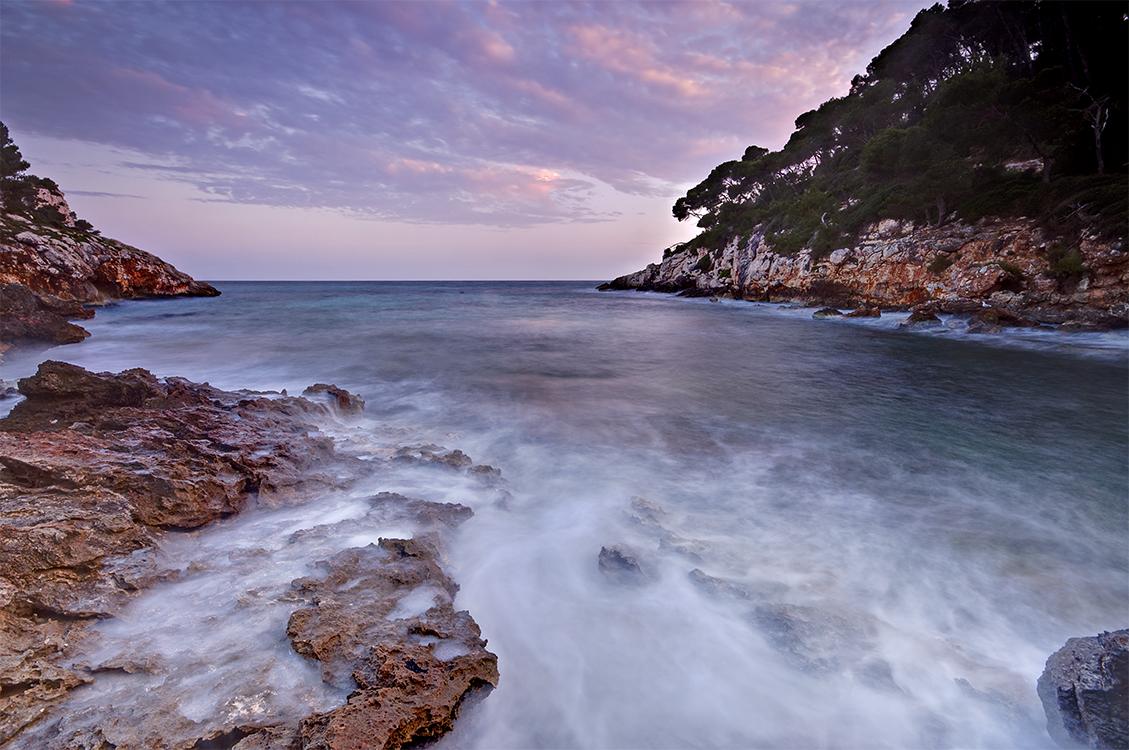 Long Exposure Balearic Sea surf by Bull04