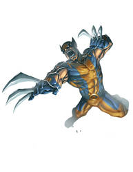 Wolverine jumpshot by BrianFajardo