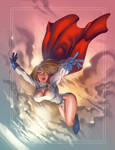 Power Girl art commission