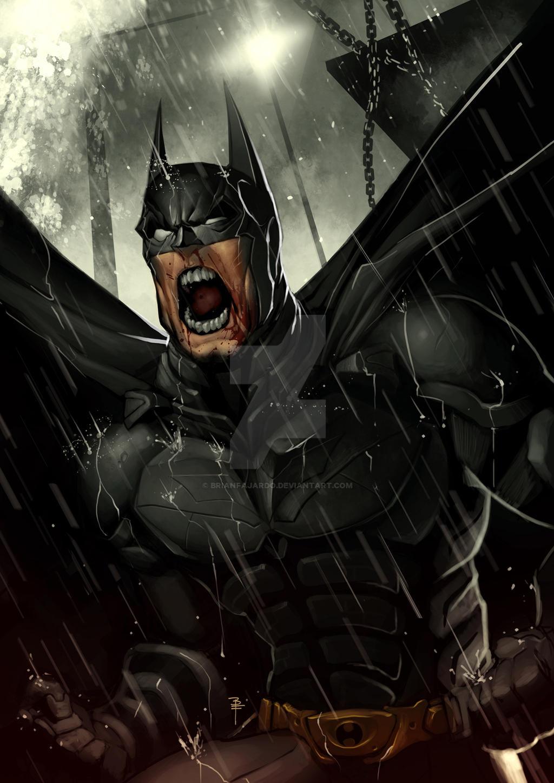 Batman The Dark knight Rises by BrianFajardo
