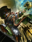 Budran the Dwarf Warrior Priest