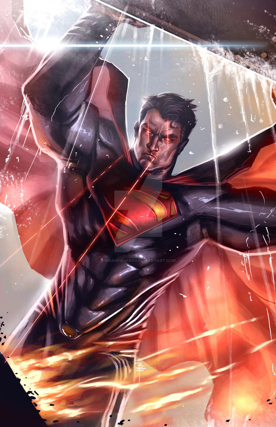Man of Steel lifting by BrianFajardo