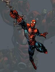 Spidey Deadpool Fan art by BrianFajardo