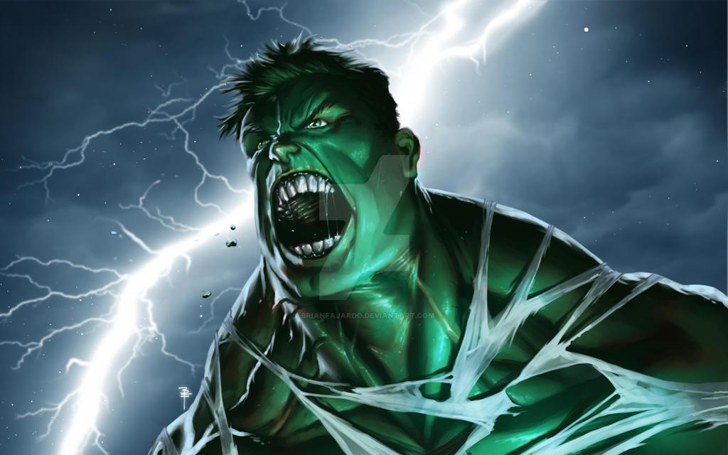 The Always Angry Hulk fanart by BrianFajardo