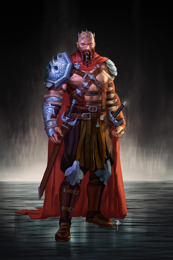 Warrior concept by BrianFajardo