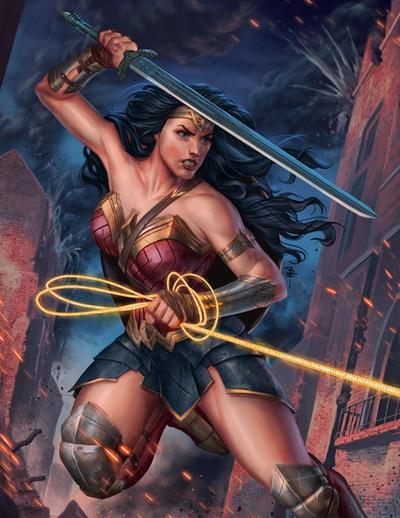 Wonder Woman fan art by BrianFajardo