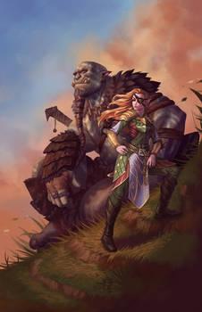 La Capitana with the Orc