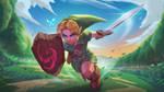 Young Link fanart Legend of Zelda