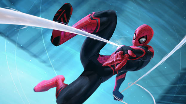 Spider-Man Far From Home Fanart