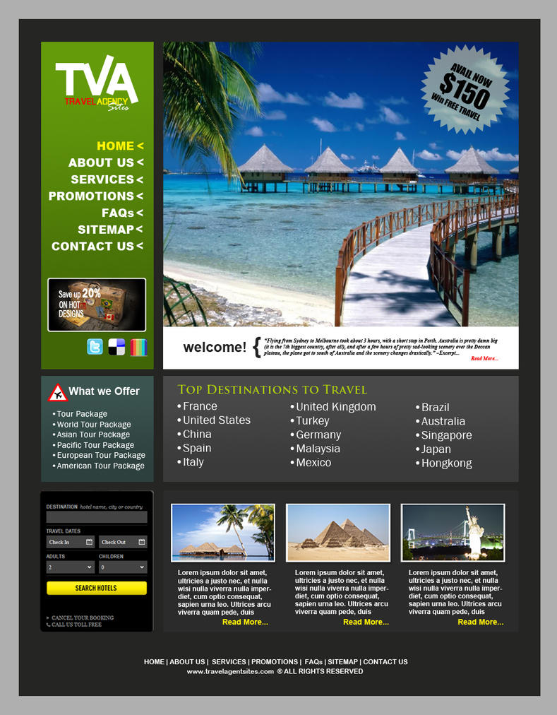 travel website design Travel websites features - get to know the top 8 essential features for travel  websites design and development with this article.