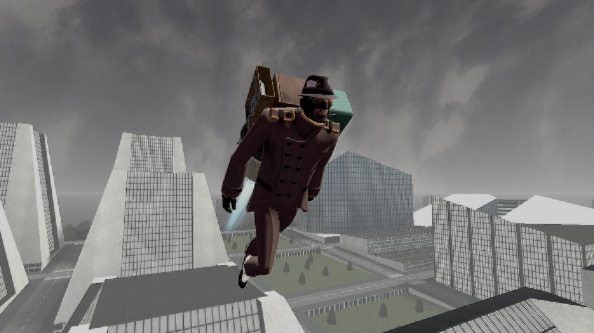 Spy flying by D13-G0