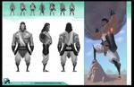 Heracles Model Sheet