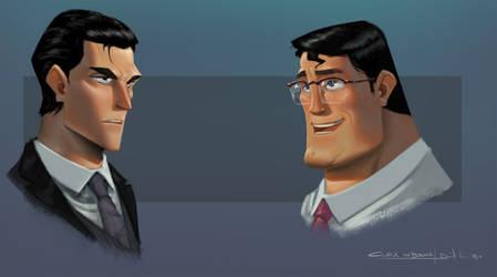 JLA CG Concepts - Clark Bruce by DanielAraya