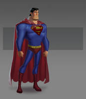 JLA CG Concepts - Superman by DanielAraya