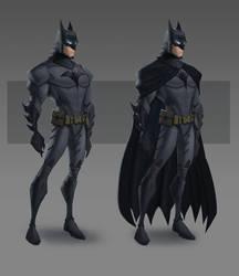 JLA CG Concepts - Batman