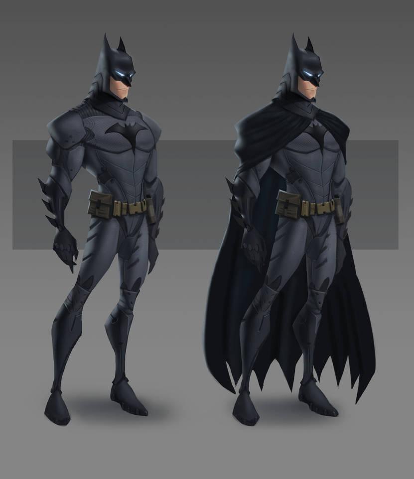 JLA CG Concepts - Batman by DanielAraya
