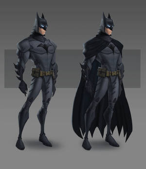 JLA CG Concepts - Batman