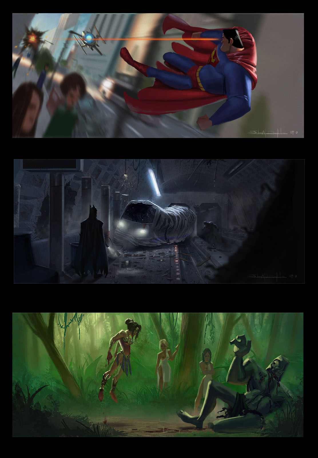 JLA CG Concepts - Prod. Paints by DanielAraya
