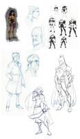 JLA CG Concepts - Roughs