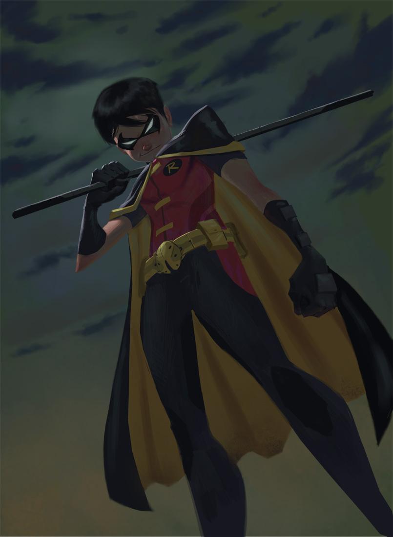 Batman and by DanielAraya