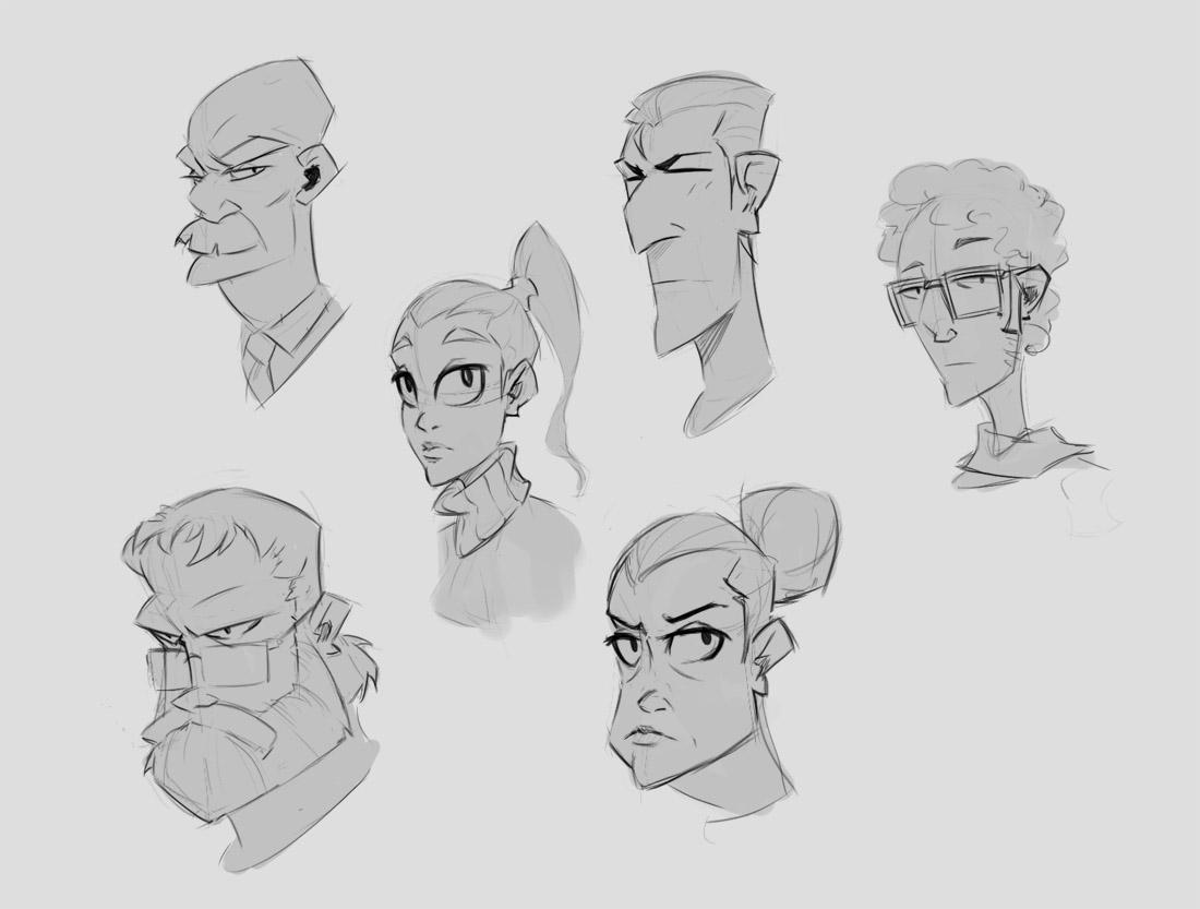 Some doodles by DanielAraya