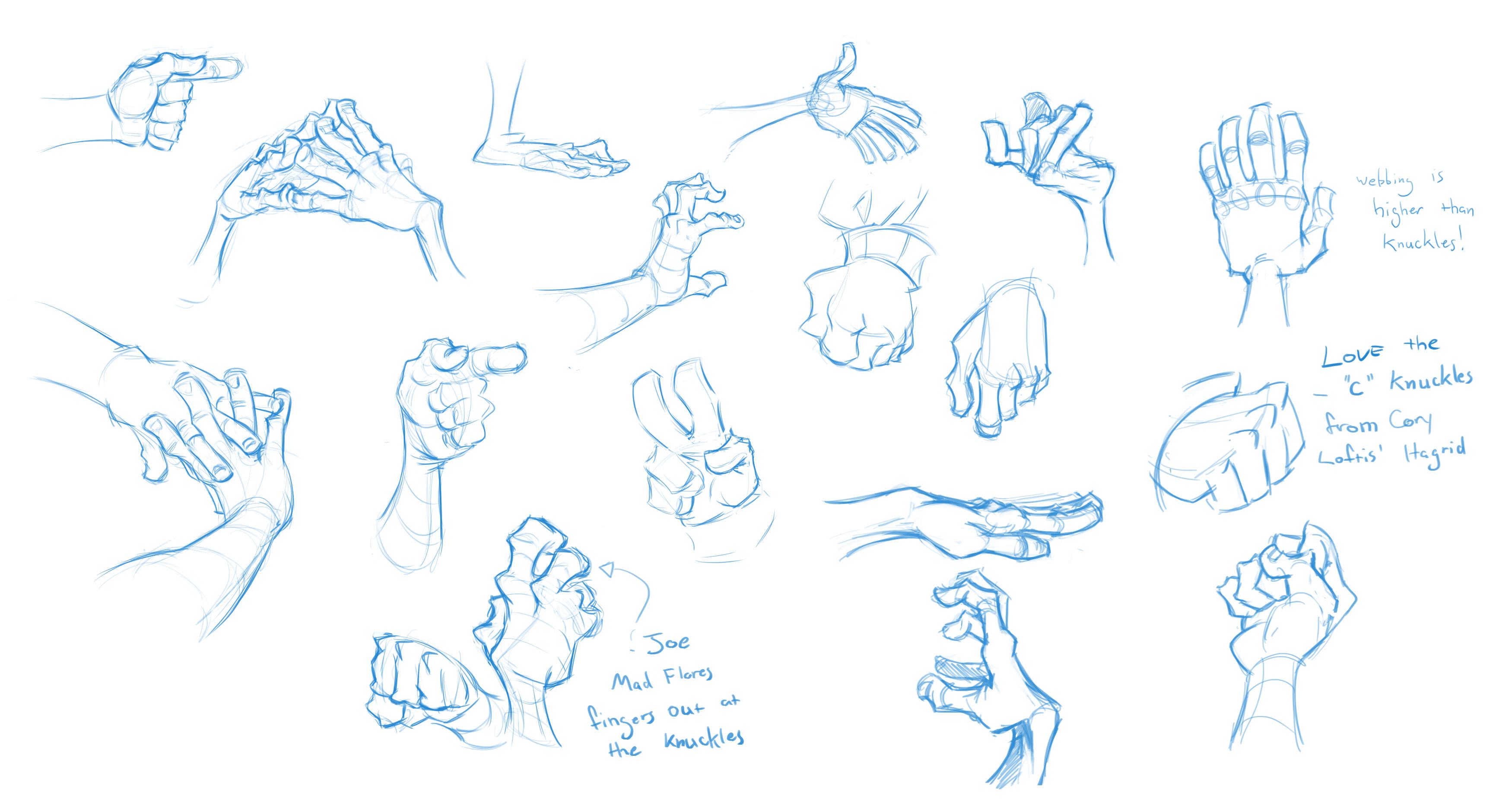 Drawin some hands by DanielAraya