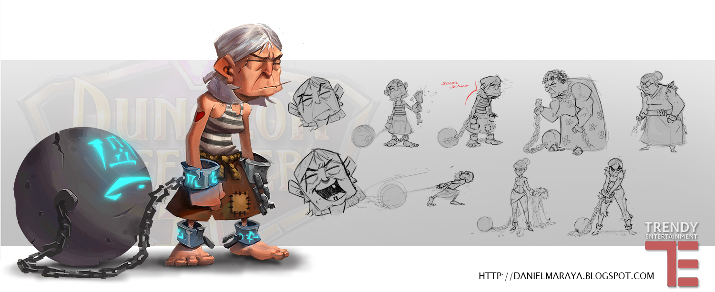 Prisoner Concept Art by DanielAraya
