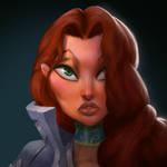 Dungeon Defenders Countess Portrait