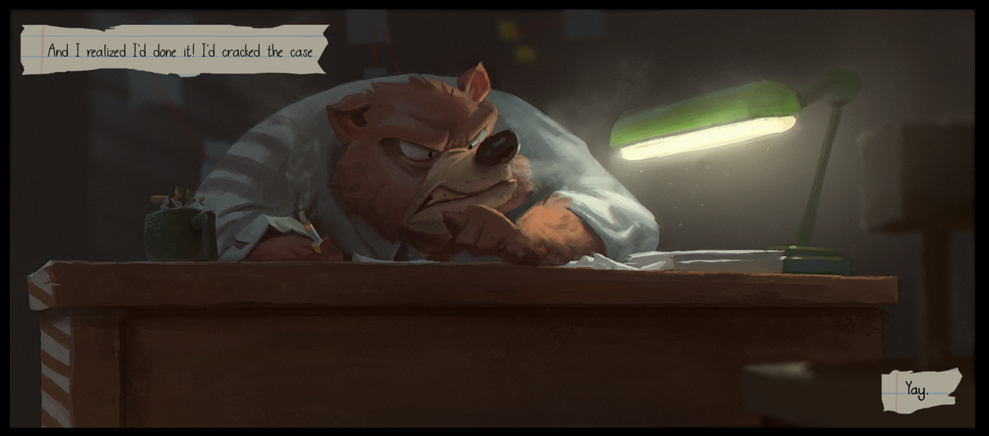 Bear Detective by DanielAraya