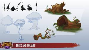 Dungeon Defenders Art Dump! by DanielAraya